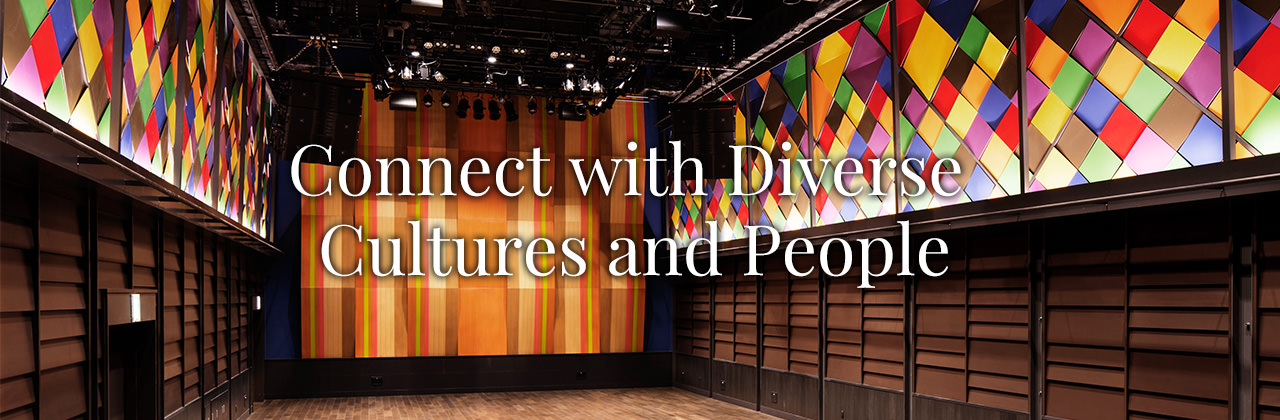 Connect with Diverse Cultures and People
